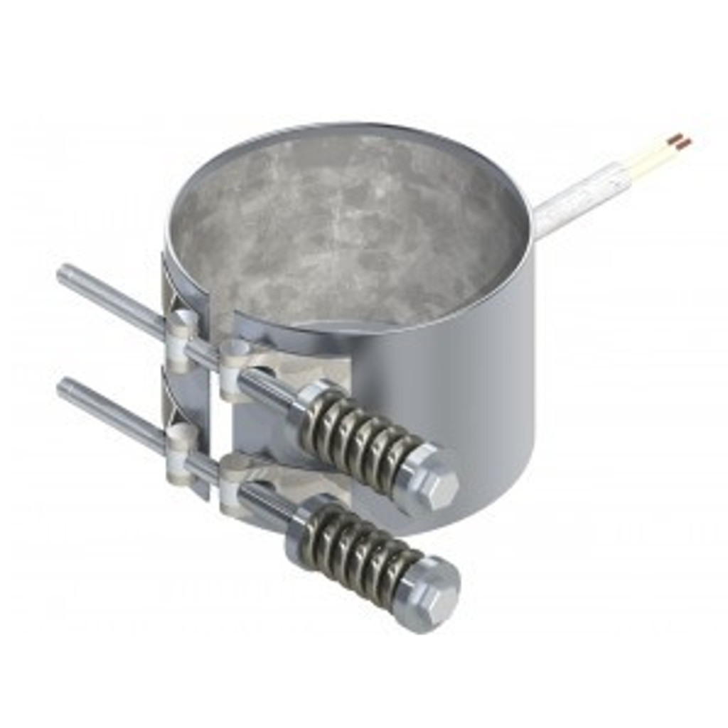 thinband-heater-tig-welded-barrel-nuts with-spring-loaded-clamp-band-heat-sensor-tech