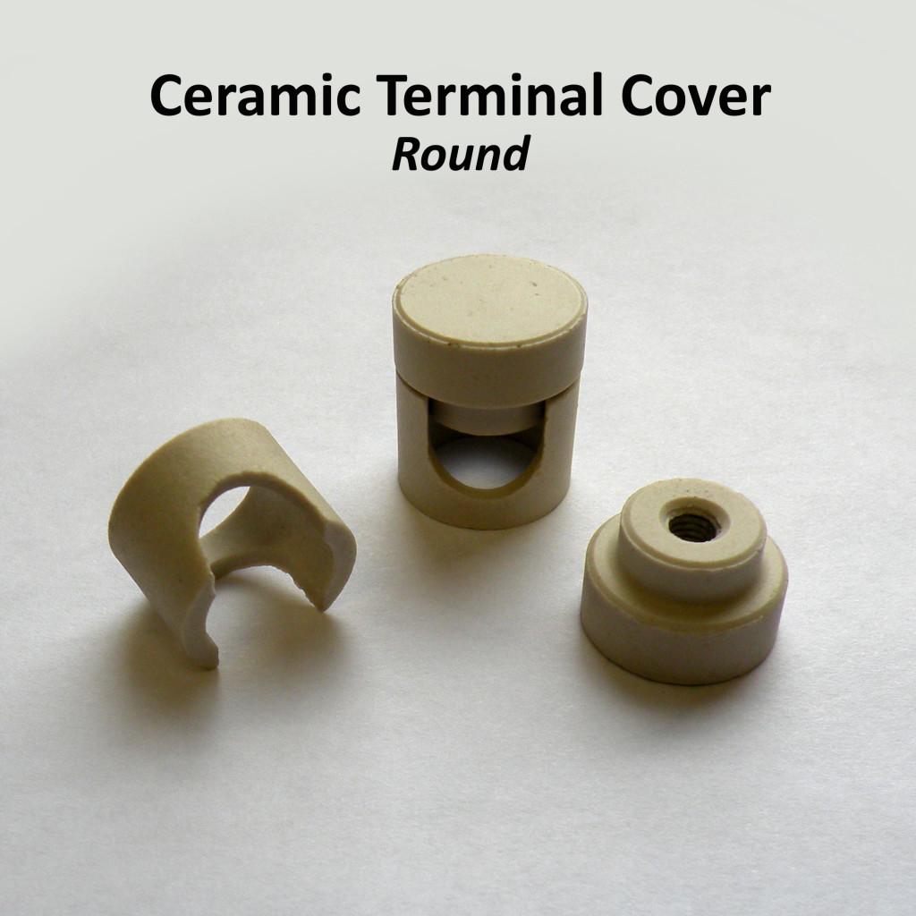 Ceramic Terminal Cover Round